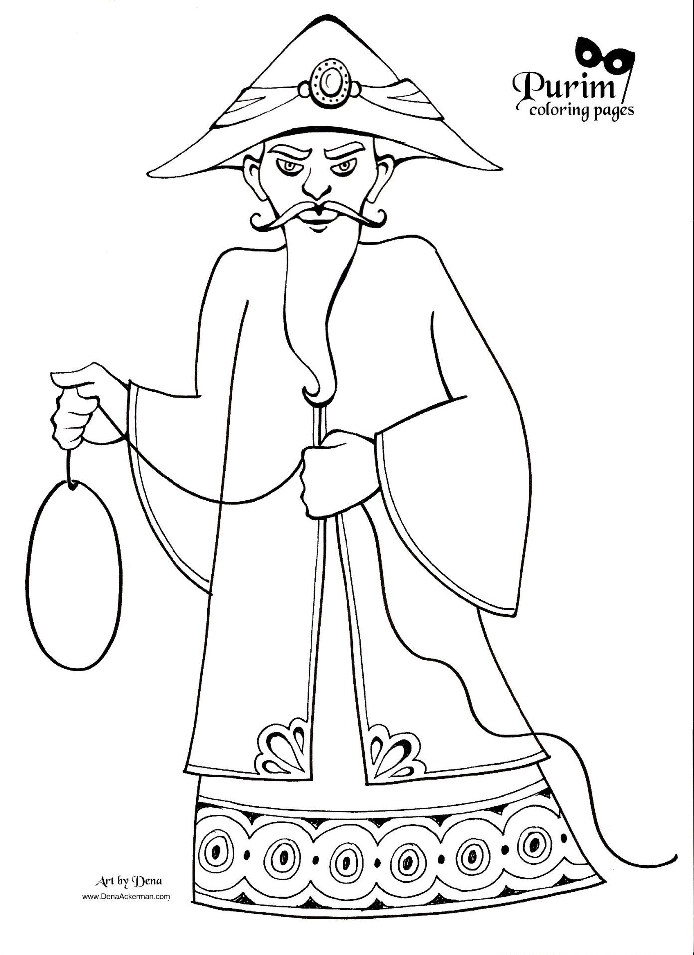 Pin by Avivit R on פורים ילדים Coloring pages, Purim
