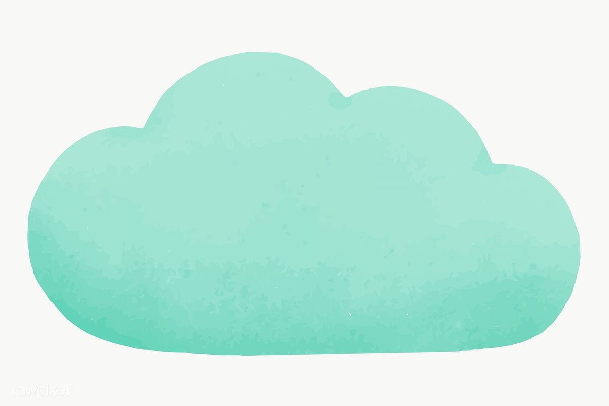 Download Premium Png Of Blue Cloud Computing Social Media Transparent Png In 2020 Social Media Icons Vector Clouds Blue Clouds