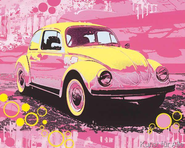 michael cheung vintage vw beatle kunstdrucke poster pinterest kunstdruck kunstdrucke. Black Bedroom Furniture Sets. Home Design Ideas