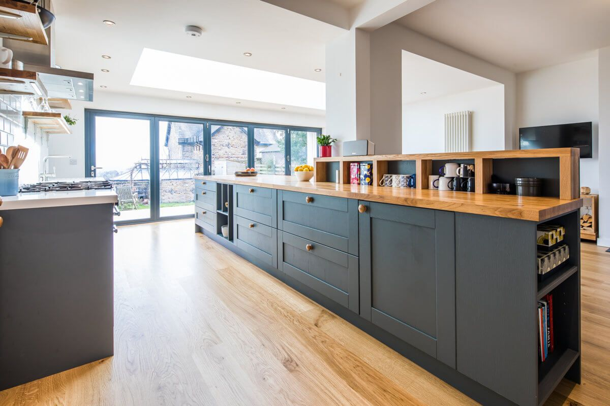 Contemporary Oak — Sheffield Sustainable Kitchens. Feature