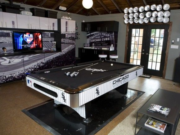 Man Cave Gift Ideas Uk : Luxury man cave game room bar caves