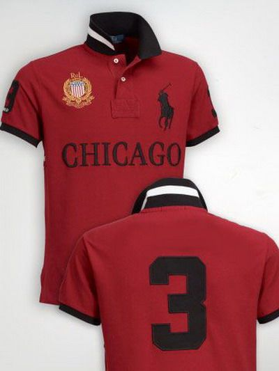 ralph lauren polo outlet online Ralph Lauren Chicago NO.3 Polo Shirt Red  http  6d393e5ed13