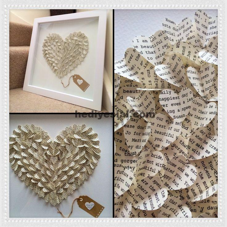 Fantastisches 3D-Herz aus einer Ehemannrede. Perfektes Jubiläum oder sogar Hochzeit ... , #ehemannrede #einer #fantastisches #hochzeit #jubilaum #perfektes #present #sogar