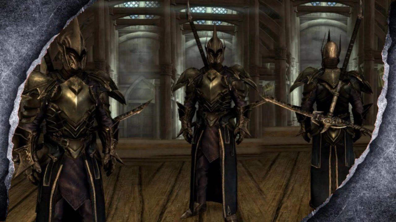 Skyrim Ebony Armor Retexture