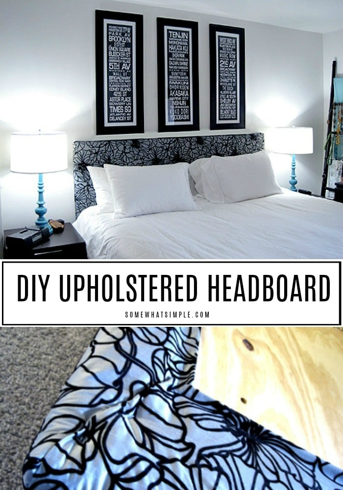 DIY Upholstered Headboard in 2020 Diy headboard