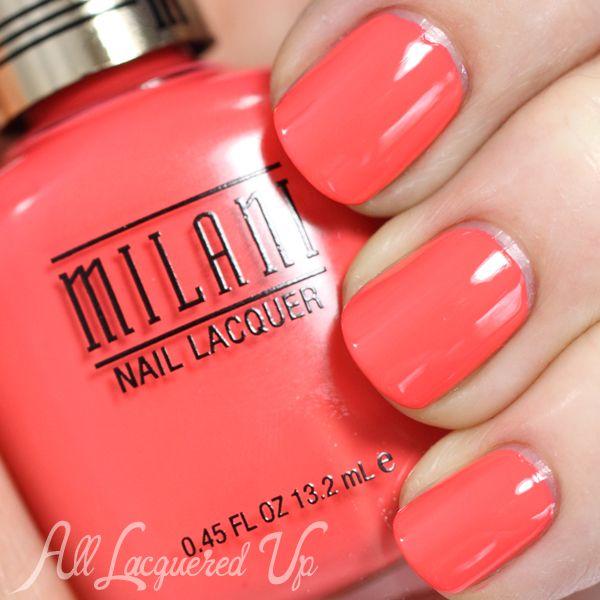 New Milani Nail Polish Colors, Perfect for Spring   Pintura de uñas ...