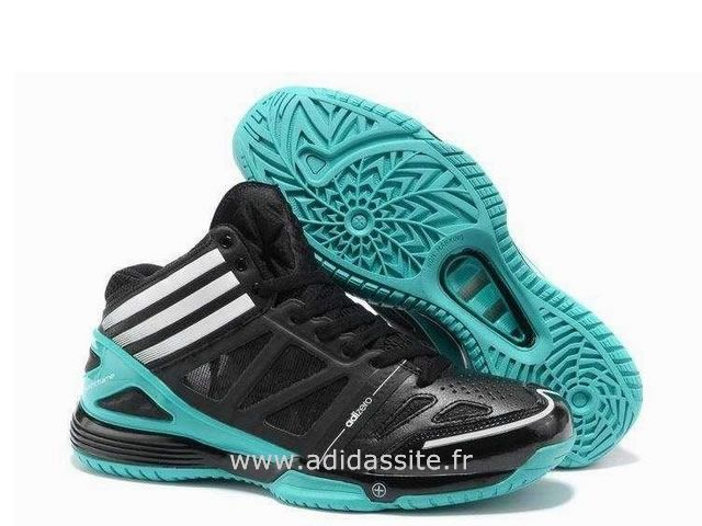 huge selection of 4a3a8 67cef Adidas adiZero Crazy Light 3ème III Troisième Homme Noir Skyblue guerre  Bottes Acheter Basket Adidas