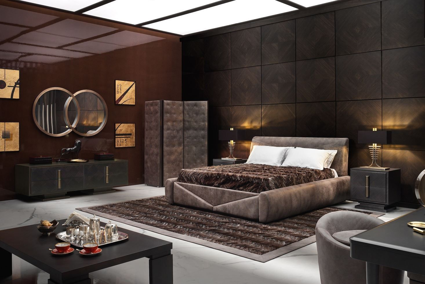 Smania Picture Gallery Minotti Furniture Bed Design Bedroom Interior