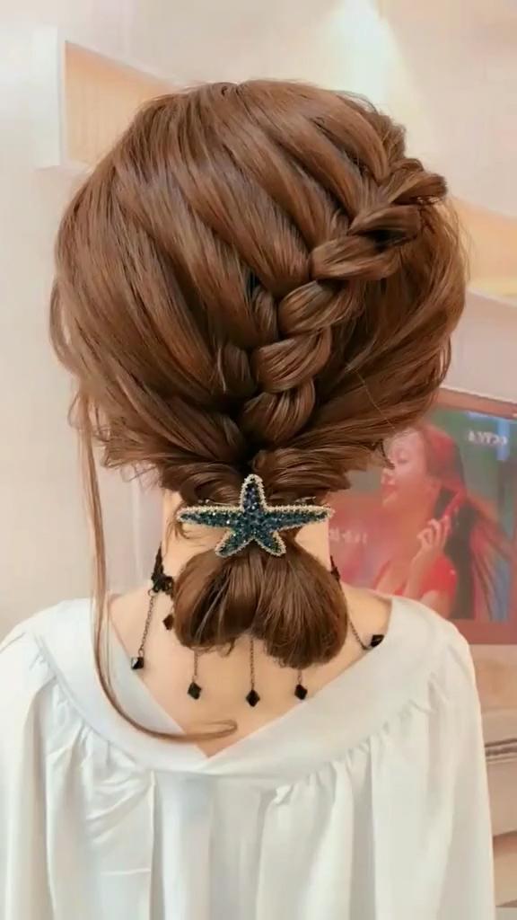 Wedding Hair Videos Wedding Hair Weddinghair Hairregrowth In 2020 Medium Length Hair Styles Hair Styles Easy Updo Hairstyles