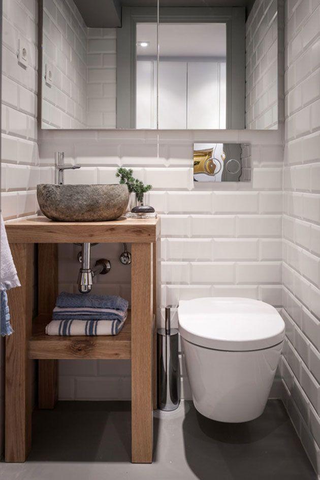 40 baños rústicos modernos con una gran mezcla de acabados Bath