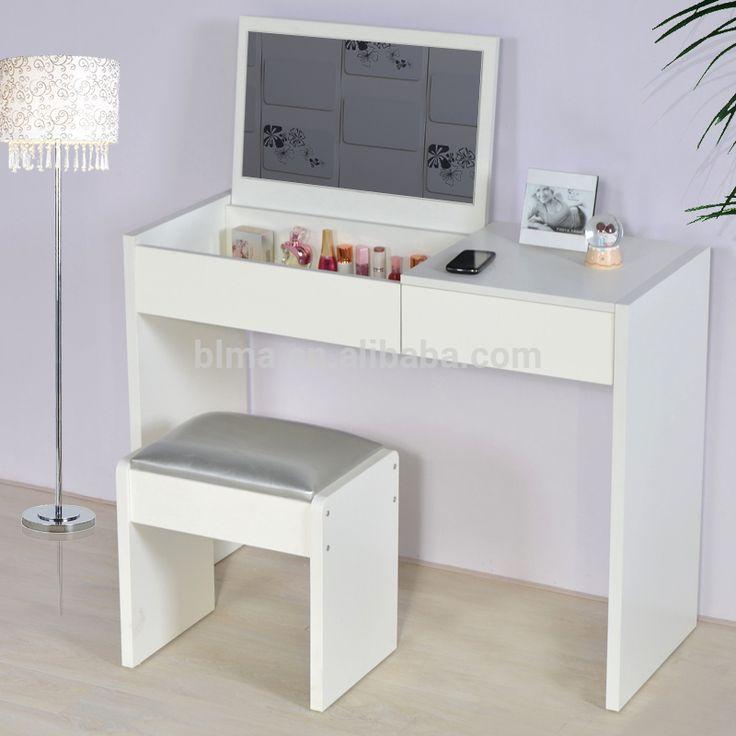 Moderno tocador con espejos mdf dressing tables - Tocador moderno dormitorio ...
