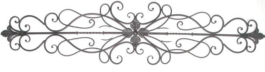 decorative+metal+wall+scrolls | Products > Wall Decor > Metal Wall ...