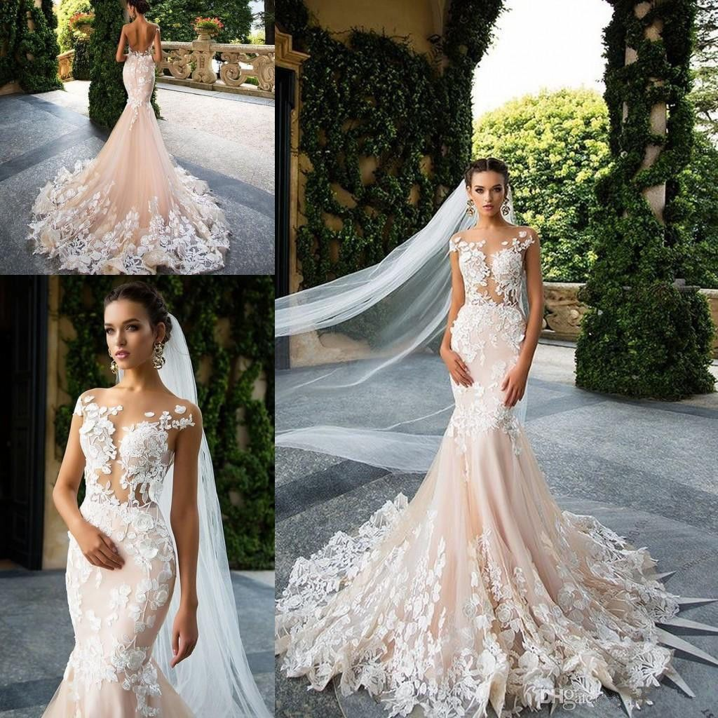 Size 6 wedding dress  Nice New Whiteivory Mermaid Wedding Dress custom size