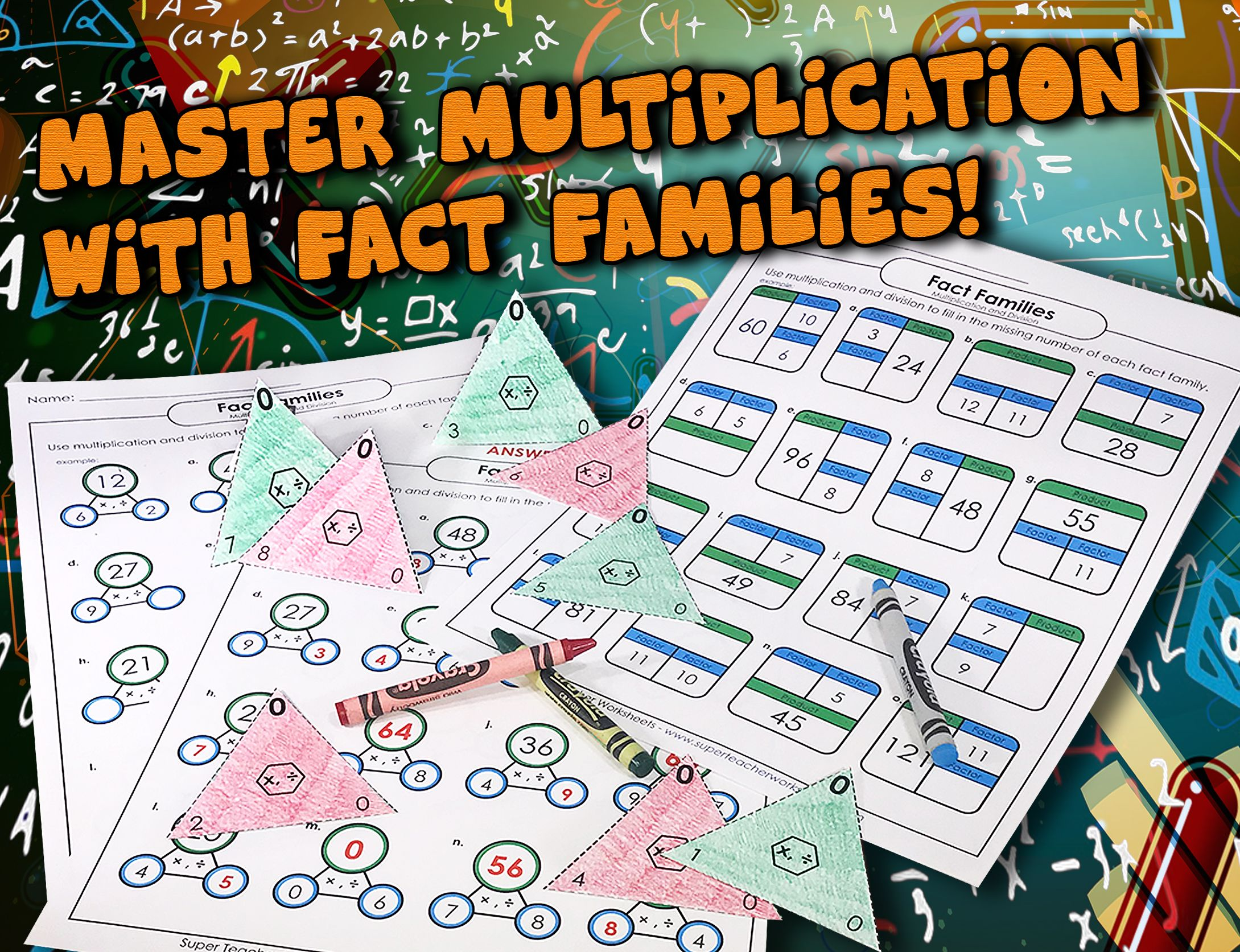 Factor Some Fun Into Your Multiplication Practice Try