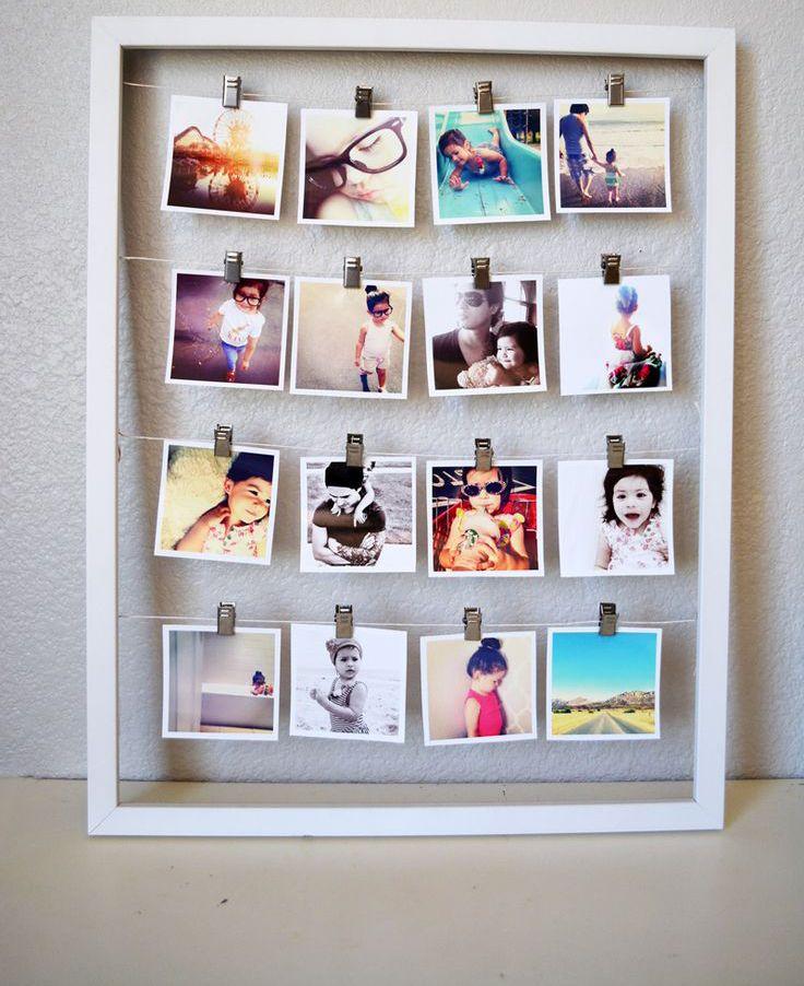 30 idee per decorare le pareti di casa con le tue foto nel