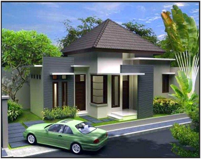 Model Desain Rumah Minimalis 1 Lantai Mewah Nyaman Elegan Konsep