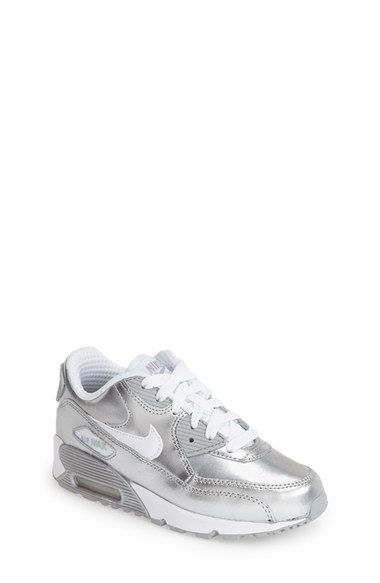556ad9c03d8 Nike  Air Max 90 Premium  Sneaker (Toddler   Little Kid) available at   Nordstrom