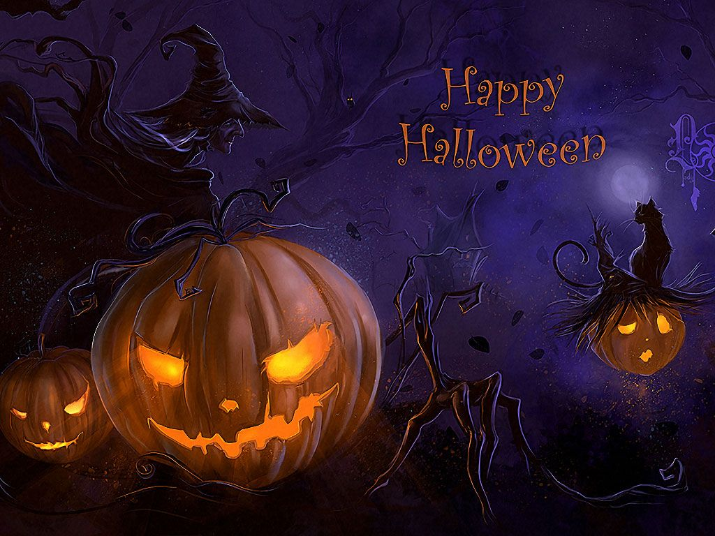 Cute Scarecrow Wallpaper | Spooky halloween 2014 Wallpaper1 Free ...