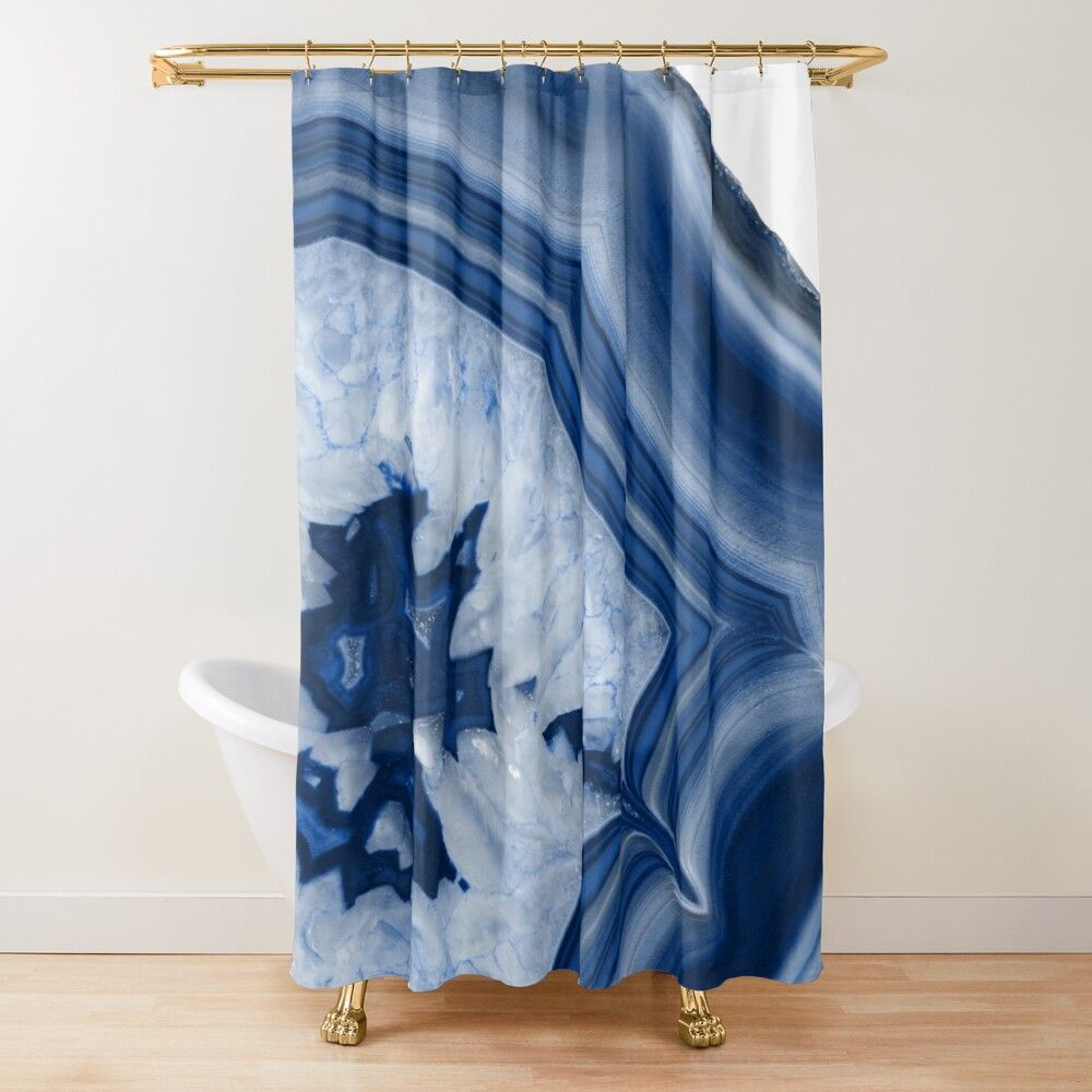 Oake Agate Shower Curtain 100 Exclusive Bloomingdale S