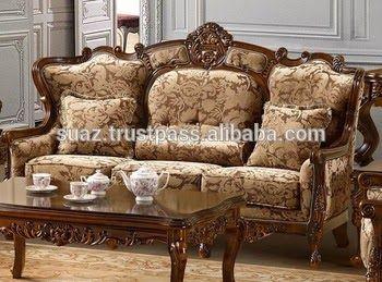 Pakistan Handmade Furniture Sofa Set Traditional Pakistan ...