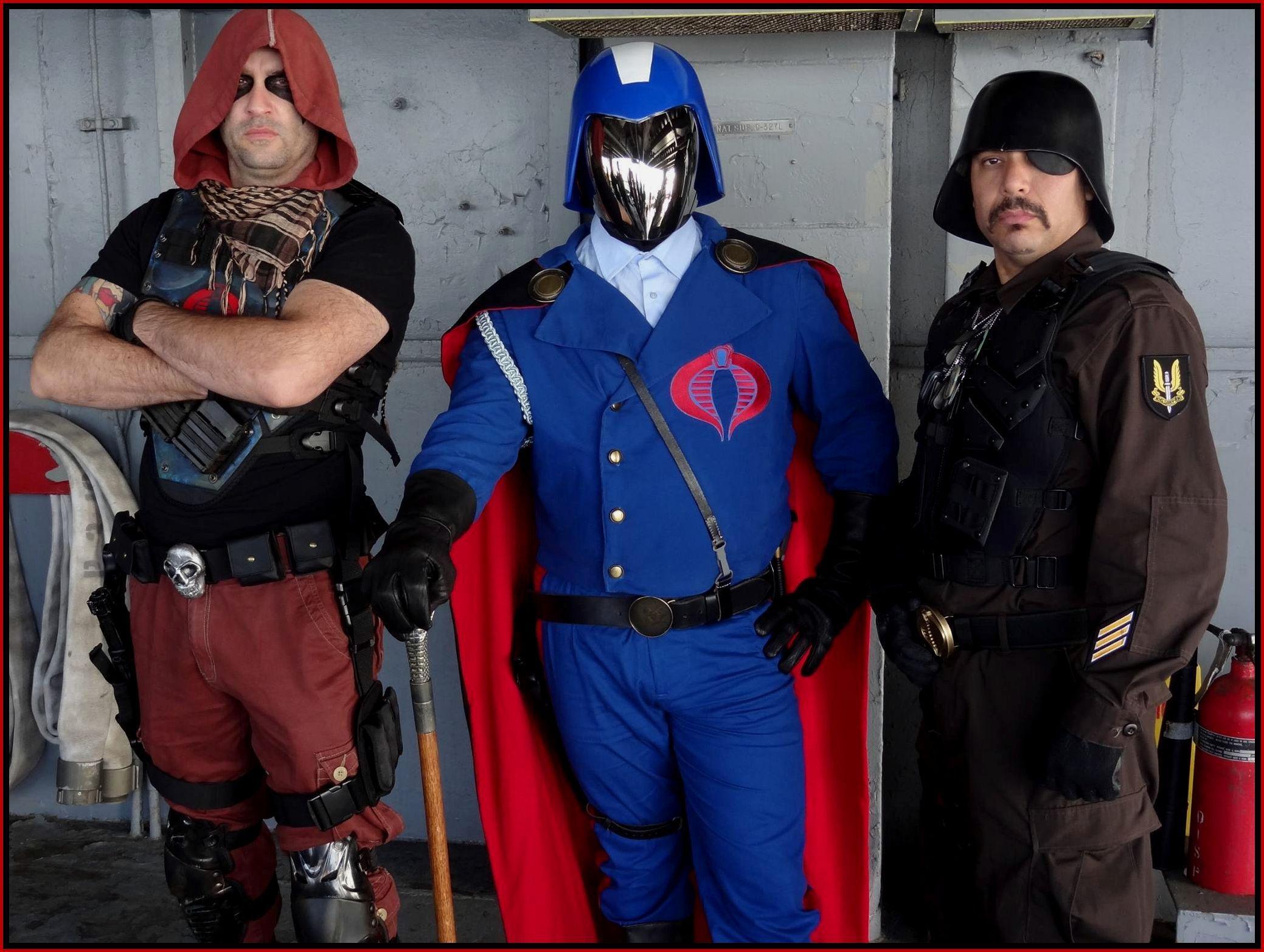 Zartan, Cobra Commander and Major Bludd on board the USS Hornet ...