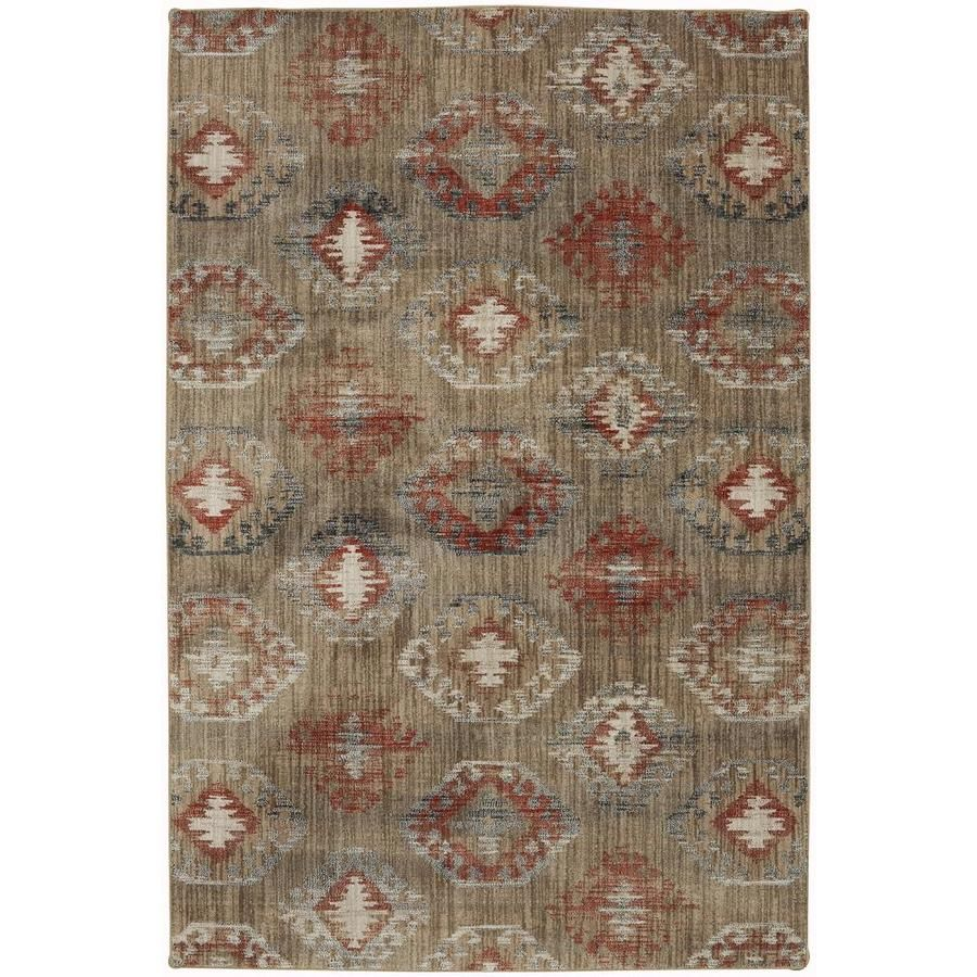 Mohawk Home 9 Ft 6 In X 12 Ft 11 In Ginger 91008 20048 114155 In 2020 Area Rugs Rugs Mohawk Home