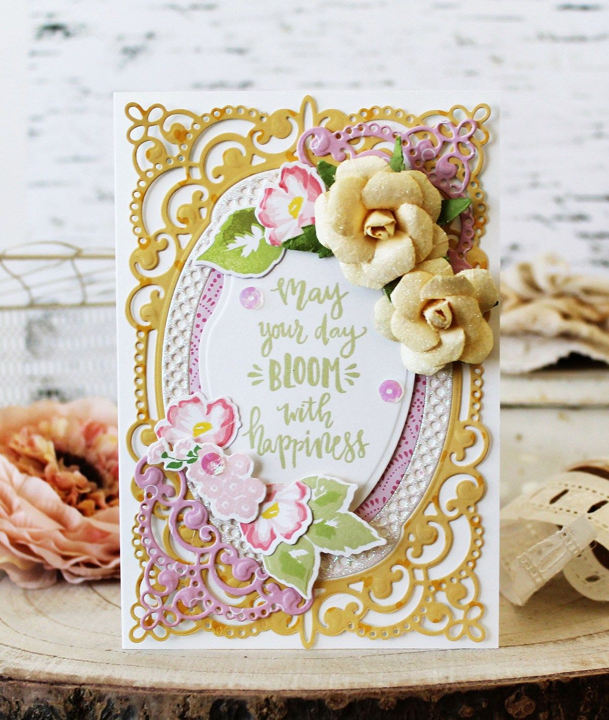 Chantilly Paper Lace Inspiration With Images Birthday Cards