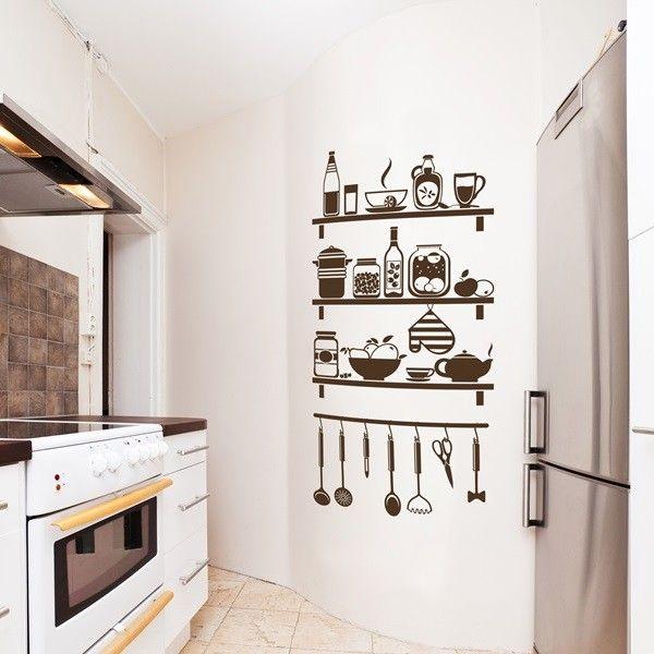 Vinilos decorativos para cocinas en - Diseno de cocinas online ...