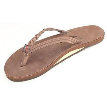61ad84da61fa Women s Flirty Braidy - Single Layer Premier Leather with Arch Support with  a Braided Strap