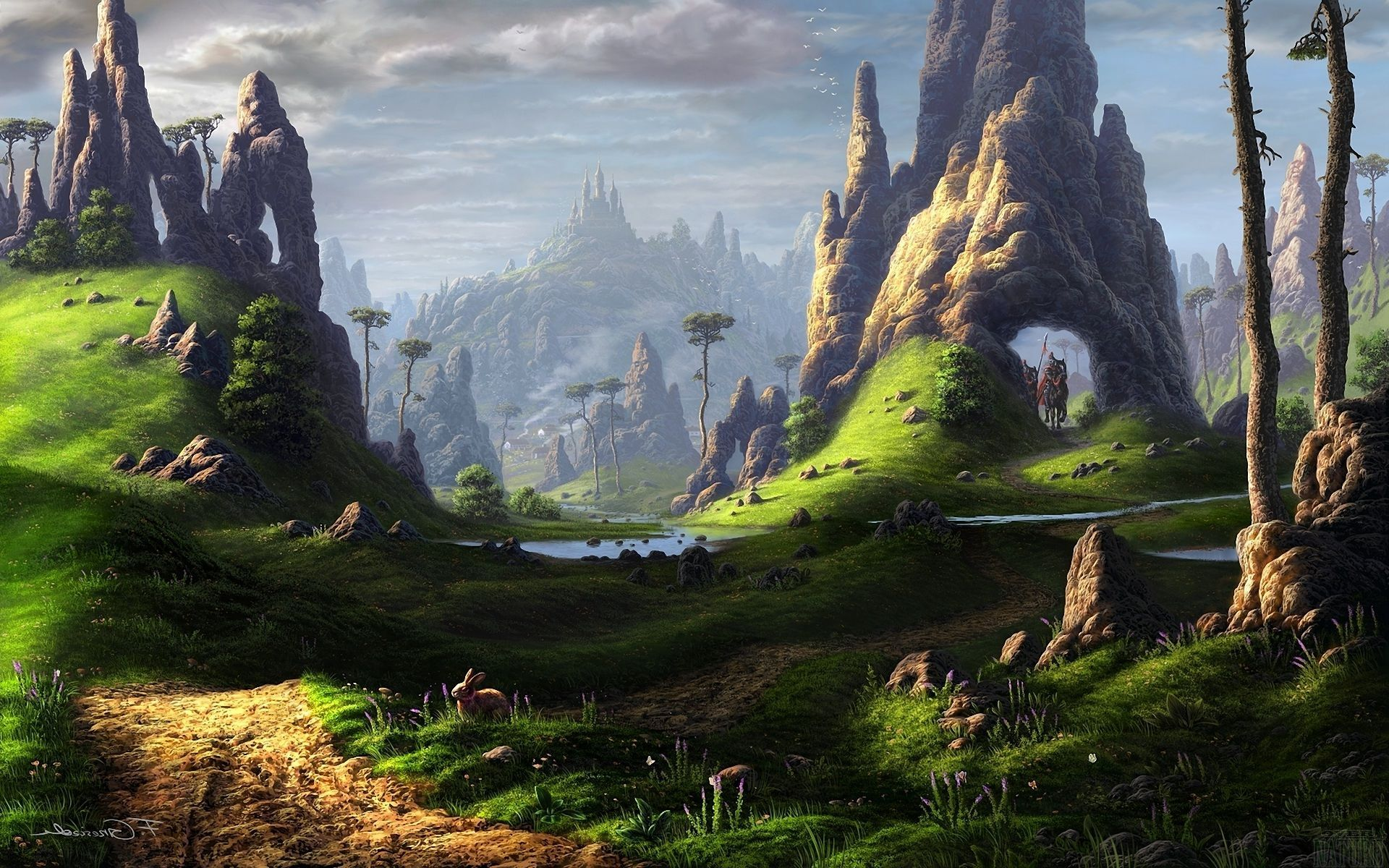 Related Keywords & Suggestions for magical places wallpaper