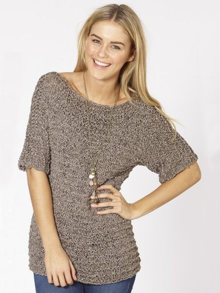 Giorgio Summer Top Free Knitted Pattern Spotlight Knit