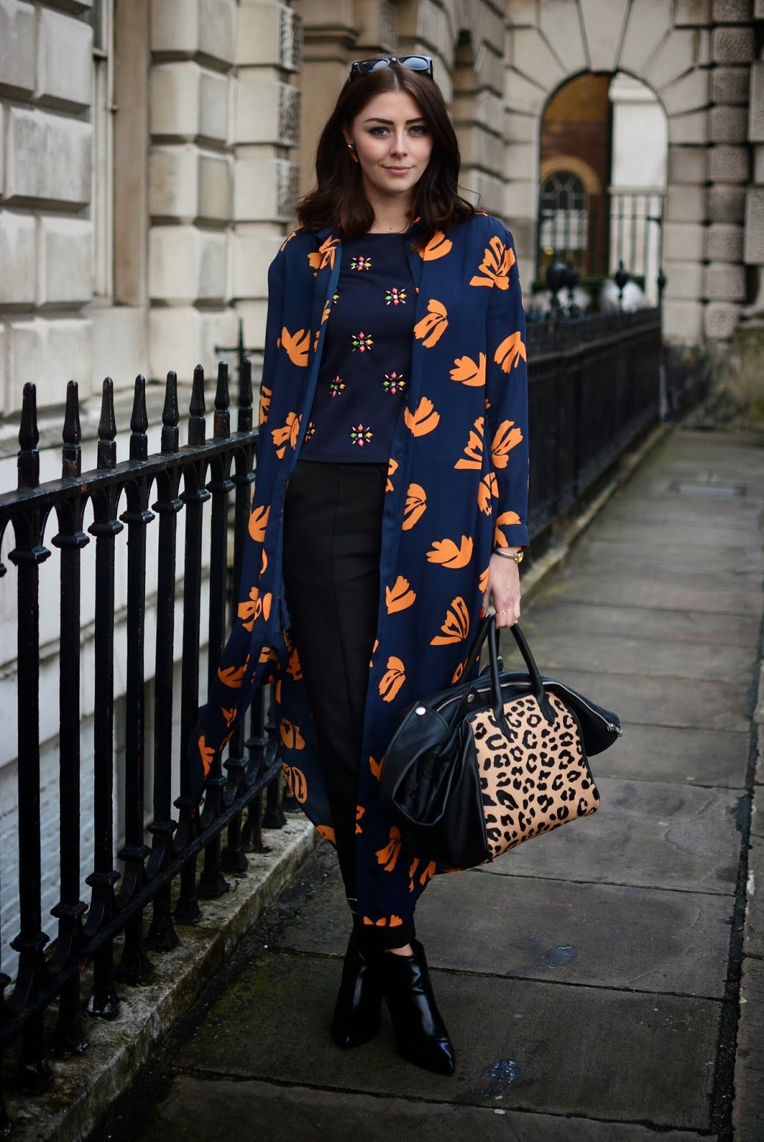 Hats off to Emma Hill for a effortless mix of patterns and prints. #EJSTYLE
