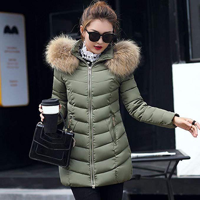 Mode Damen MäntelGJKK Dicke Jacke Winter Lange Damen Warme hCsrtxQd
