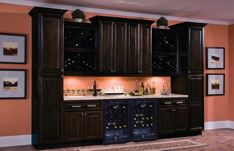 Hampton Bay Cabinet Shaker Java Images