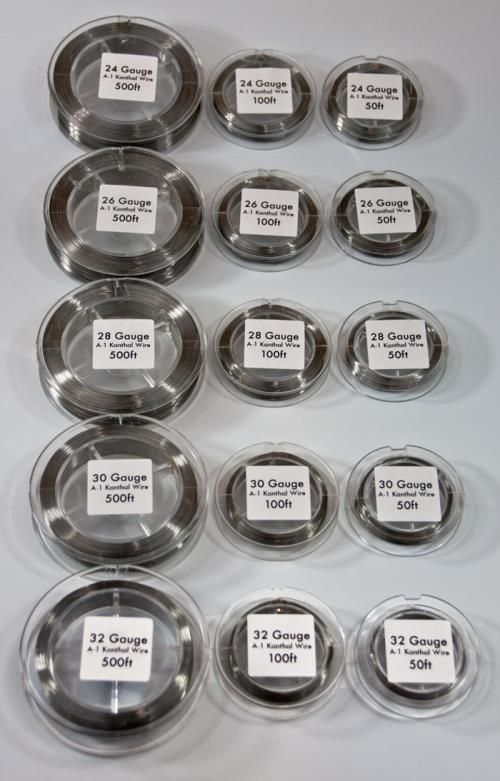 Kanthal wire vape size wire center atomizerwick kanthal a1 wire sizes vape wire pinterest vape rh pinterest com kanthal wire gauge sizing greentooth Images