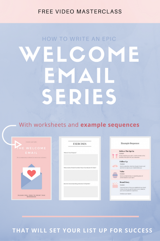 How To Write A Welcome Email Series  Email Marketing Blogging