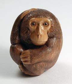 Monkey Netsuke by Sergei Osipov.