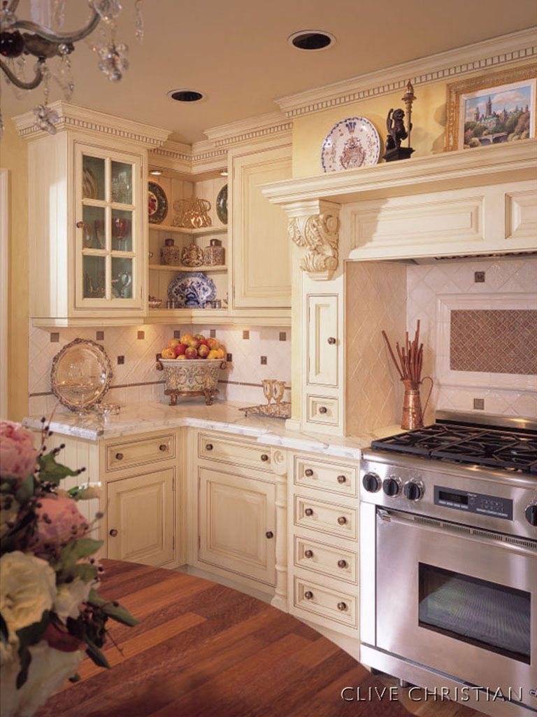 Intimate Victorian Clive Christian Kitchen Remodel: Victorian ...
