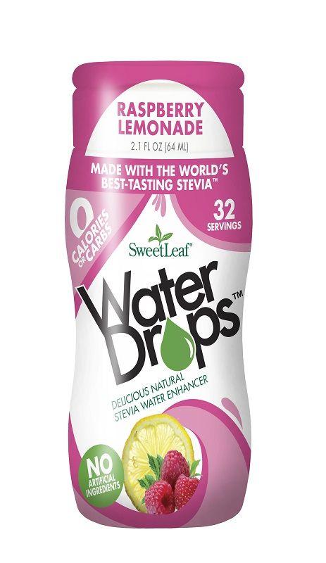 Wisdom Naturals Sweetleaf Stevia Sweetener Raspberry Lemonade Water Drops These Raspberry Lemonade Water Drops Make Hydrati Peach Mango Water Enhancer Stevia
