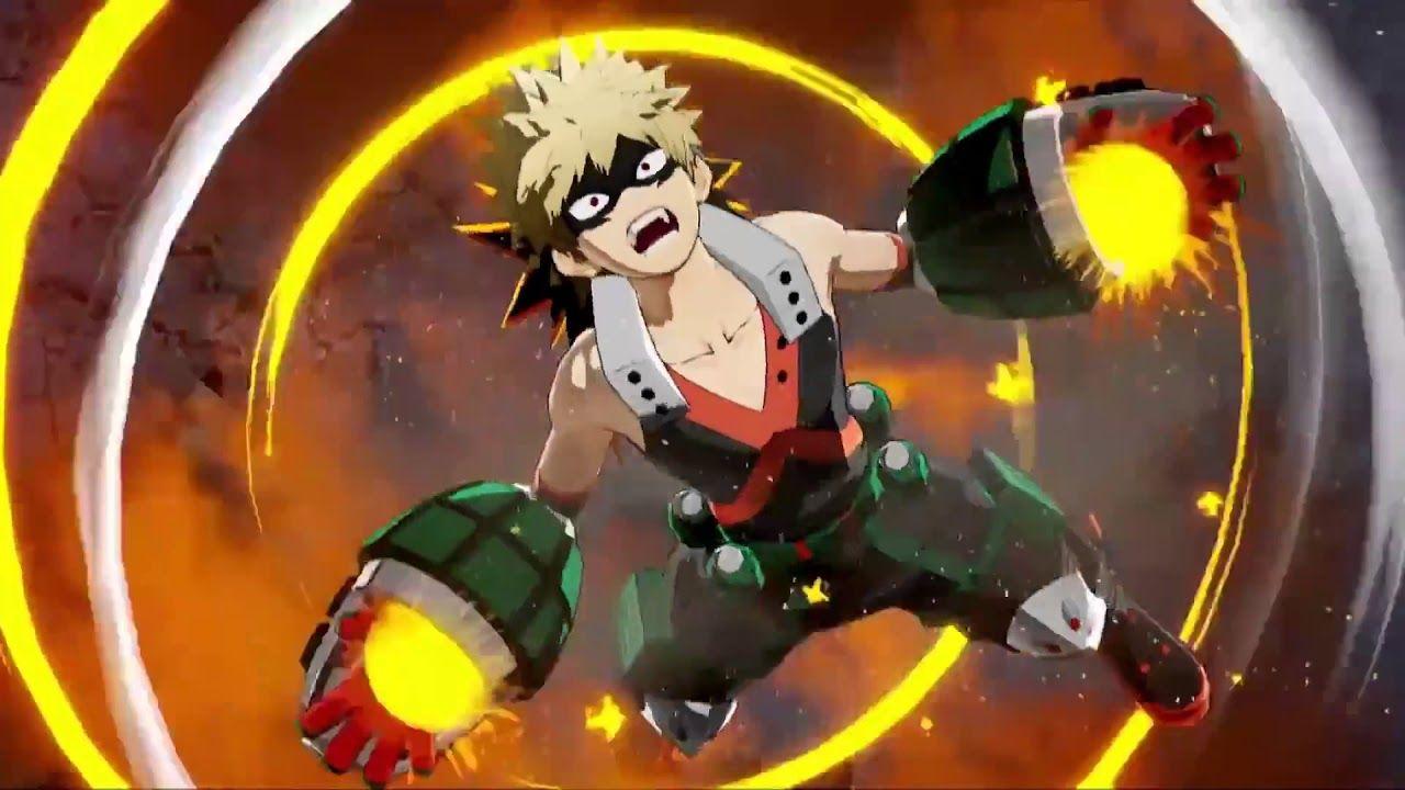 My Hero Academia One S Justice 1080p Midoriya Vs Bakugou Gameplay Ps4 My Hero My Hero Academia Hero