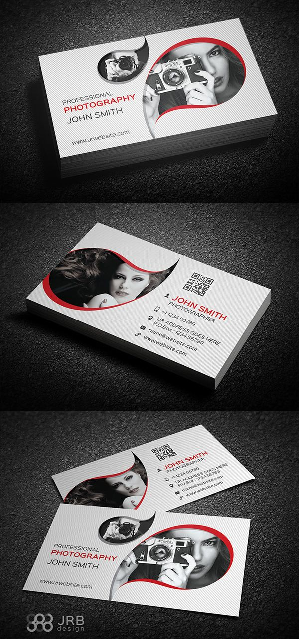Photography business card business card pinterest photography photography business card reheart Choice Image