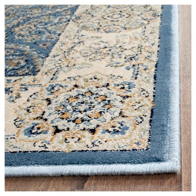Barrie Area Rug Light Blue Ivory 5