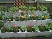 Encantadoramente hermoso bloque de escoria ideas que puede utilizar para su jardín - Cin ... -