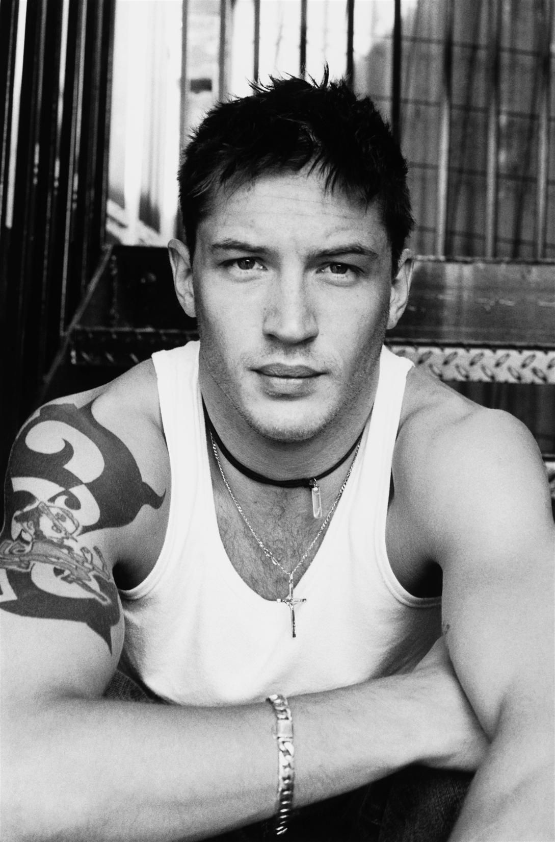 Tom Hardy  /photograph by Greg Williams | 2004