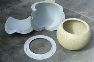 Reusable Furniture Molds For Concrete Planters Stools And Tables