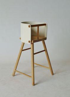 Ben af Schultén 616 child's high chair for Artek 1960s. Available at Merzbau.