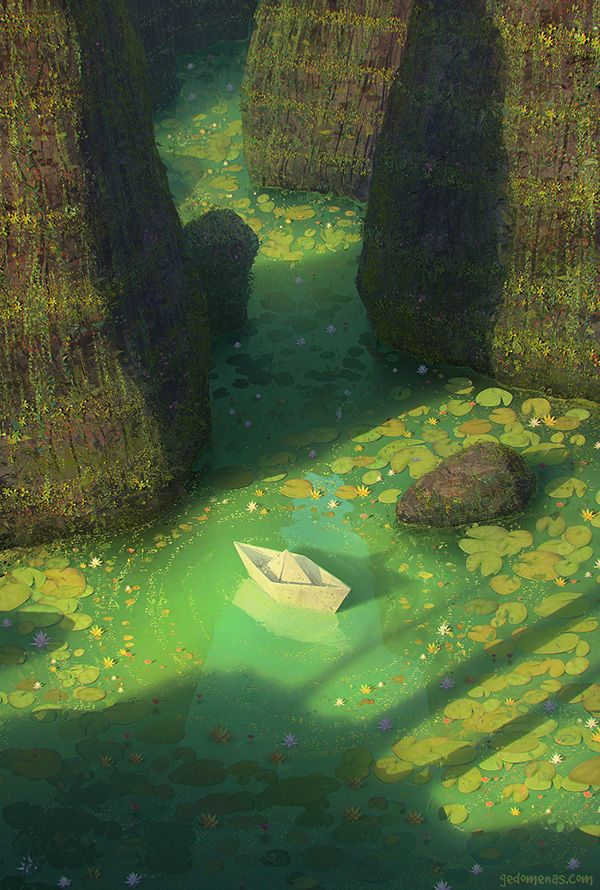 FEATURED ARTIST: Gediminas Pranckevicius. Secret Place > Delightfully dreamy #digitalart