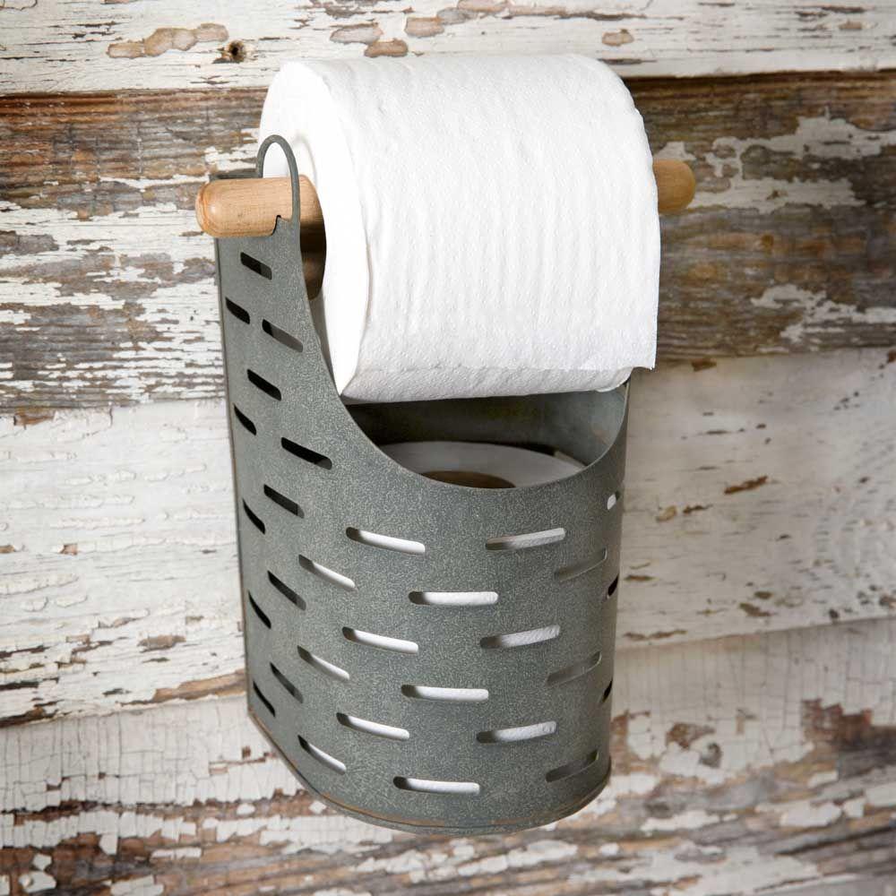 Olive Bucket Toilet Paper Holder images