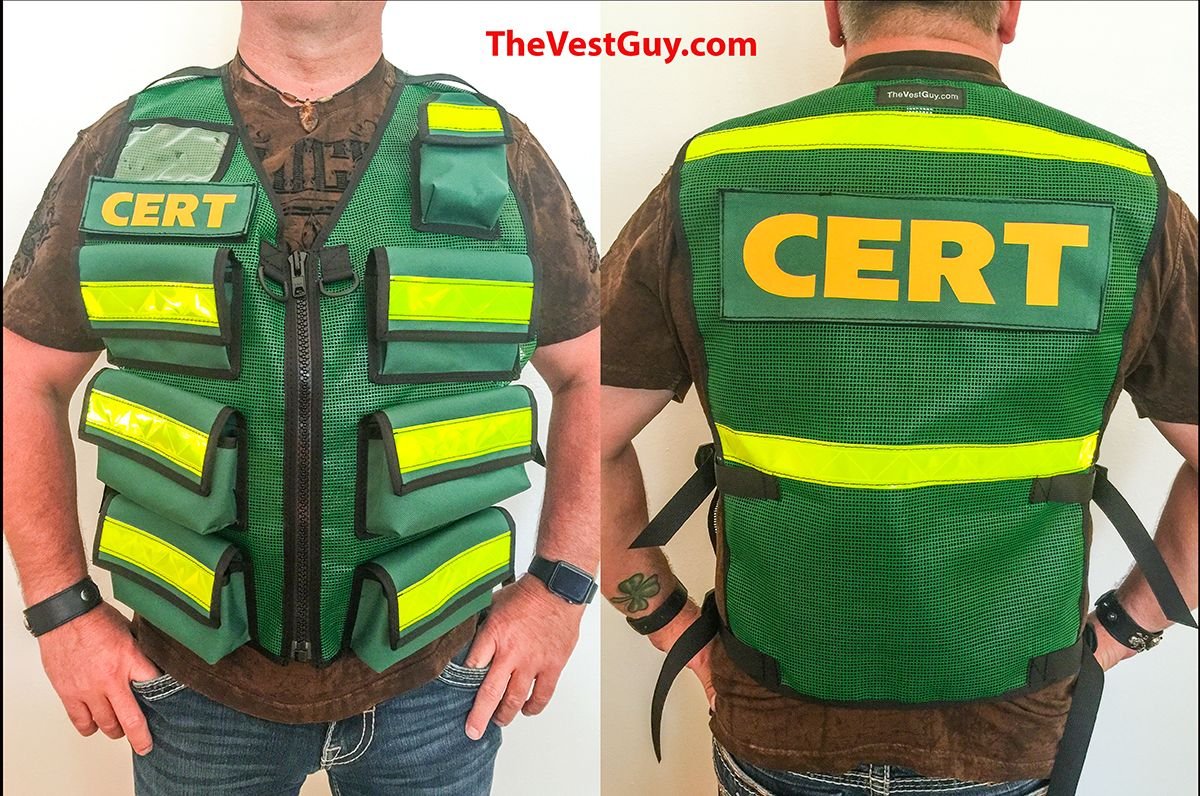 Cert vest with lots of pockets since all the vest guy