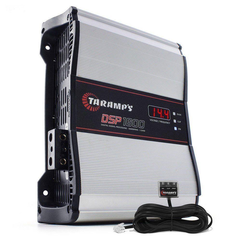 TARAMPS Car Audio Amplifier Class D DSP 1600 4 OHMS